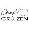 chef cru-zen - cruzine - cuisine crue - raw cooking