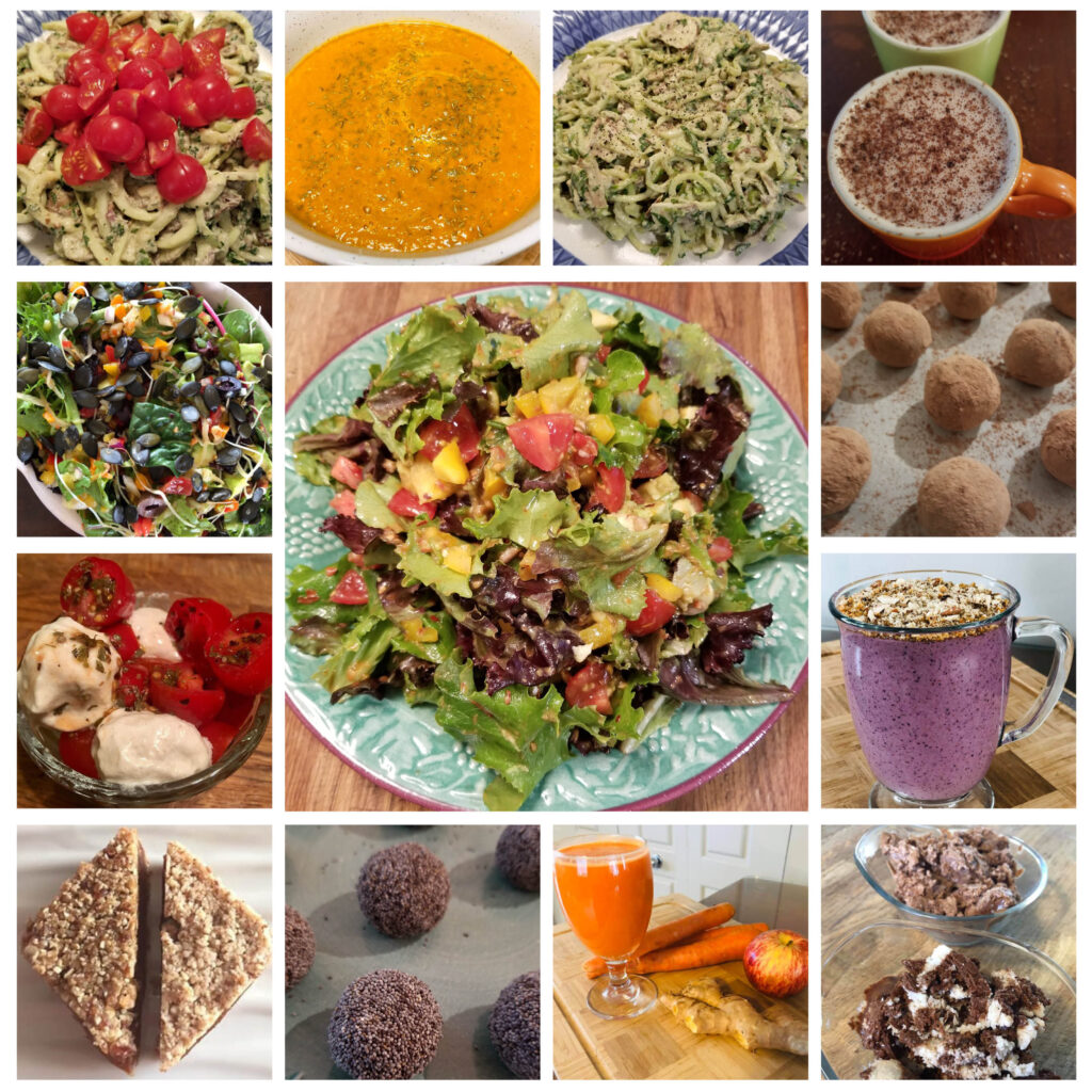 recettes crues - raw recipes